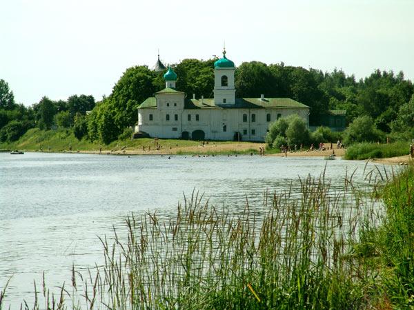 Псков. Мирожский монастырь.