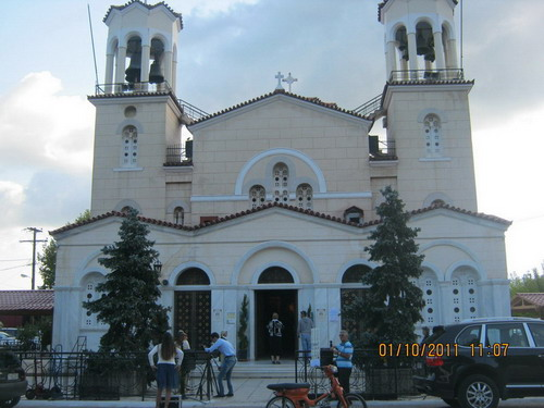Храм в Афинах