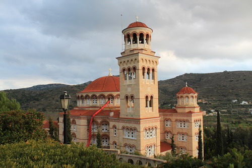 Монастырь на острове Эгина
