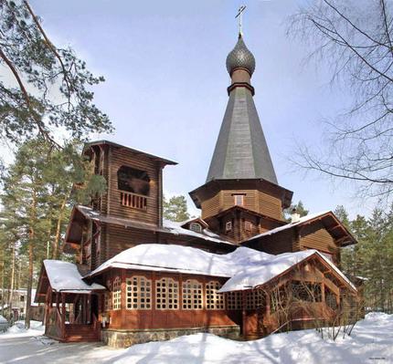 Вырица. Казанский храм.