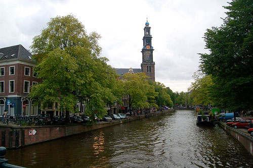 Амстердам.Западная церковь
