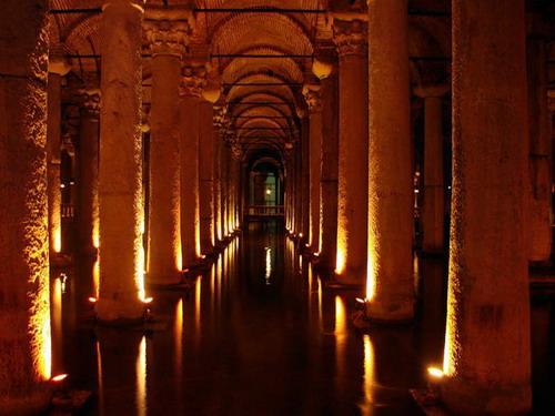 Древнее водохранилище