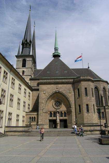 Люксембург.Кафедральный собор