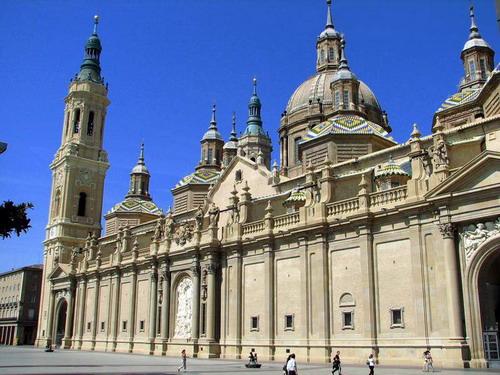 Сарагоса.Собор Святой Девы Пилар