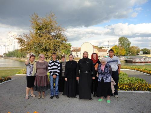 На месте первого православного храма в Минске