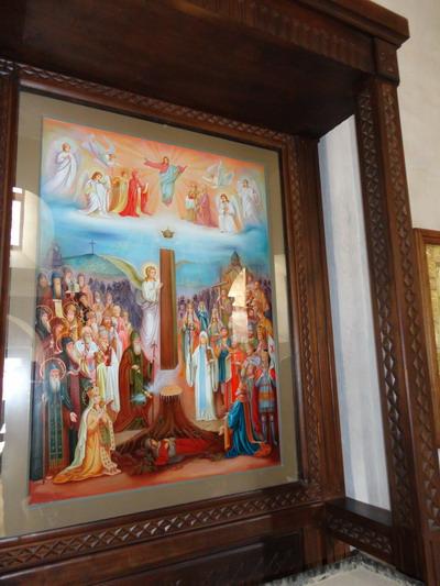 Гареджийский монастырь. Икона Слава Грузии