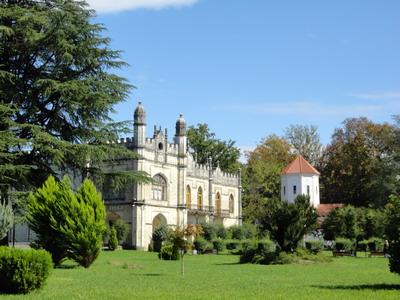 Дворец Дадиани, где хранится Риза Богородицы