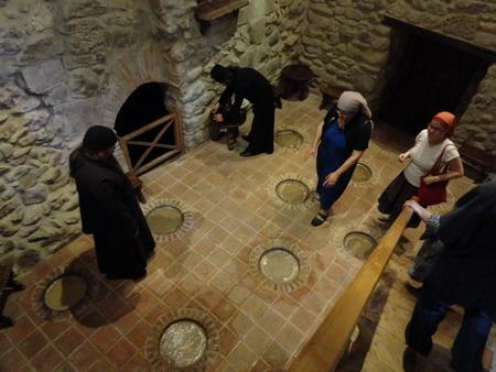 Монастырь Мартвили. Винный погреб