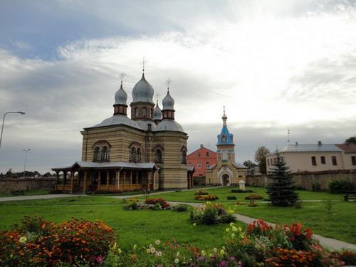 Свято-Духов монастырь в г. Екабпилс