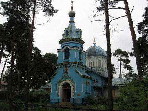Храм Владимира Равноапостольного в г. Юрмала
