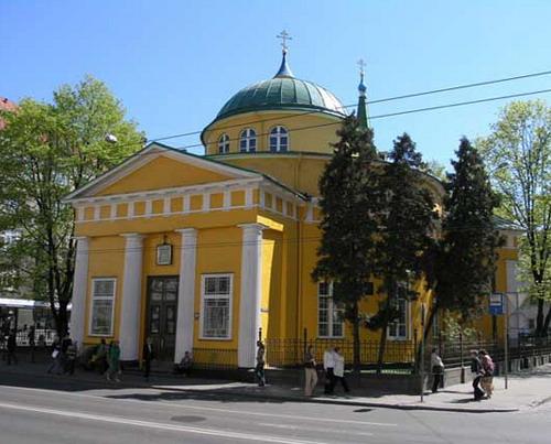 Храм святого благоверного великого князя Александра Невского в г. Рига