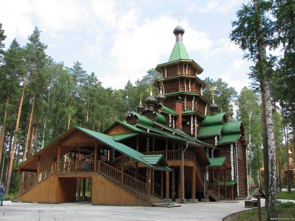 Монастырь Царственных Страстотерпцев - Ганина Яма