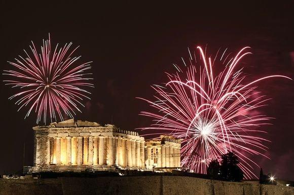 Греция традиции нового года