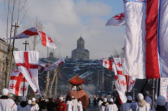 Рождество в Грузии