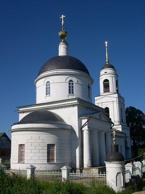Радонеж. Преображенская церковь