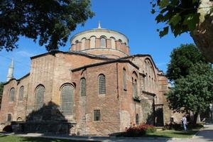 Св.Ирина в Константинополе -храм Мира, где проходил Второй Вселенский собор