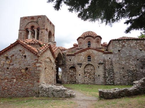 Мистра. Византийский город