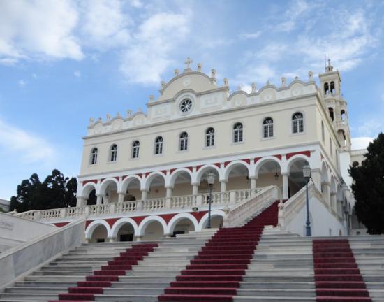 Тинос. Благовещенский Собор