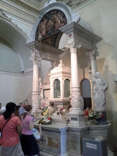В церкви Св.Франциска. Ланчанское чудо