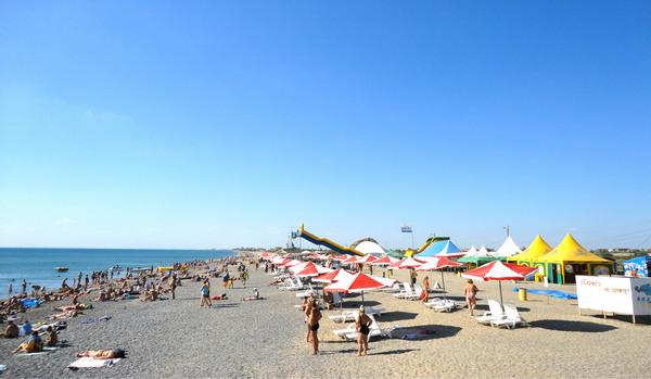 Пляж в Новофедоровке. 012