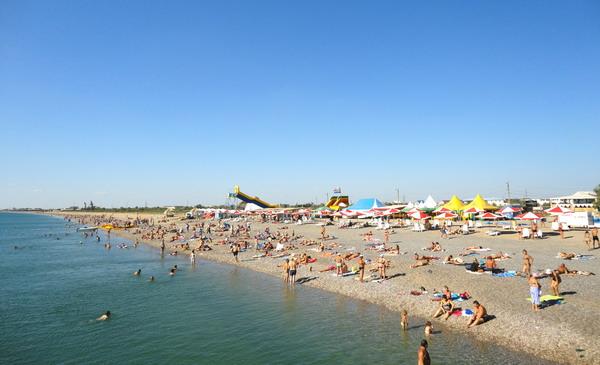Пляж в Новофедоровке. 020