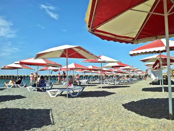Пляж в Новофедоровке. 021