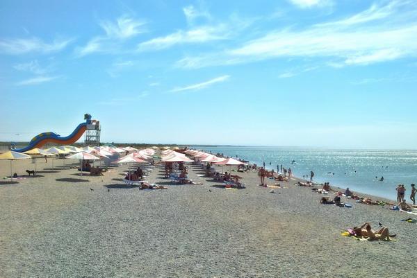 Пляж в Новофедоровке. 022