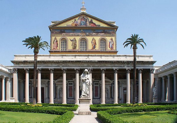 Базилика Апостола Павла за городскими стенами