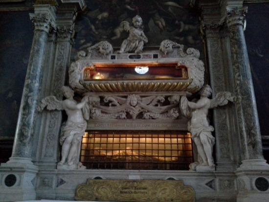 Мощи св.Захарии и святителя Афанасия Великого
