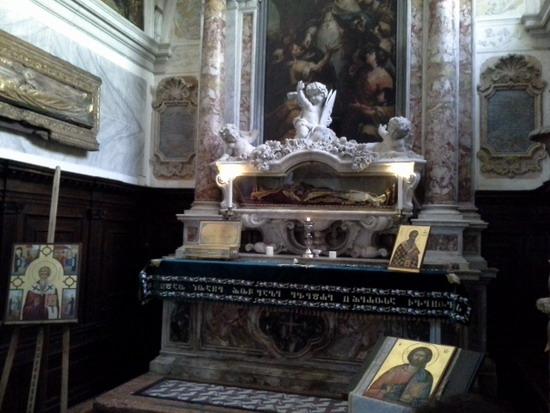 Венеция. Мощи Иоанна Милостивого