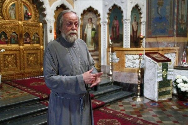 Настоятель о.Георгий Блатинский