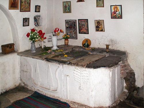 Гробница с мощами Иоанна Рыльского