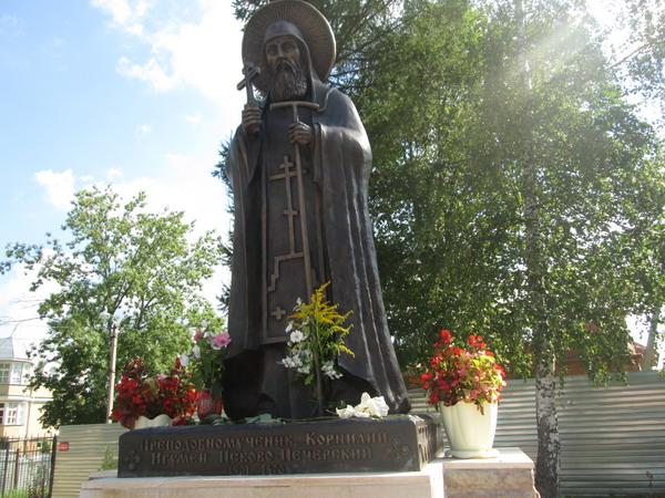 Игумен Корнилий. В Свято-Успенском Псково-Печерском монастыре