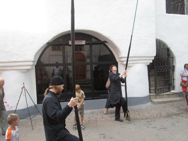 Звонари в Свято-Успенском Псково-Печерском монастыре