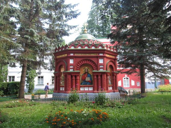В Свято-Успенском Псково-Печерском монастыре