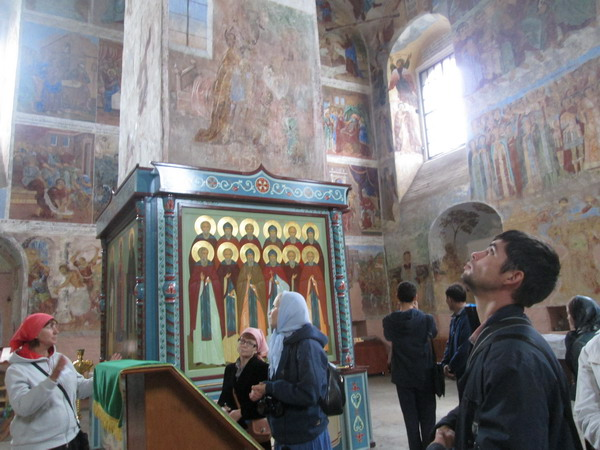 В Александро-Свирском монастыре