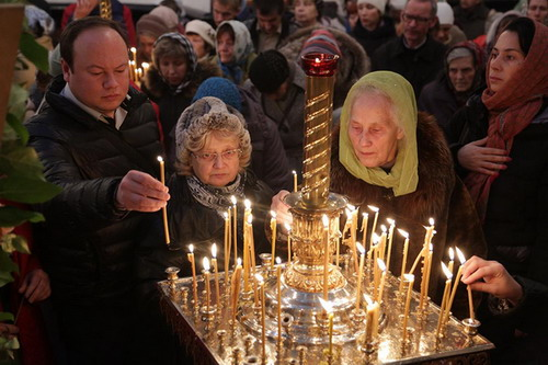 Мощи Святителя Спиридона в Екатеринбурге