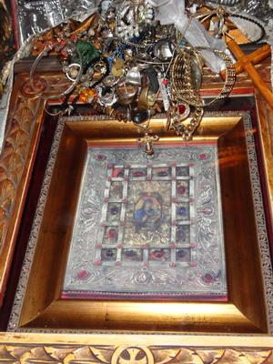 Икона Богородицы Пелекити или Фанерумени