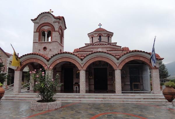 Храм в монастыре Като Ксенья