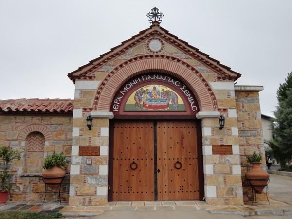 Вход в монастырь Като Ксенья