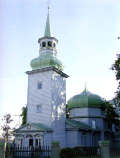 Храм Рождества Пресвятой Богородицы (Казанская церковь) в г. Таллин