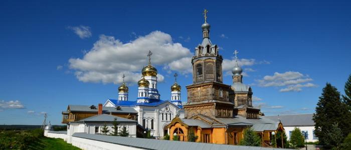 Тихвинский женский монастырь. Цивильск