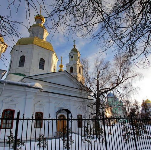 Дивеево. Казанский собор