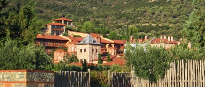 Женский монастырь Ормилия. Греция