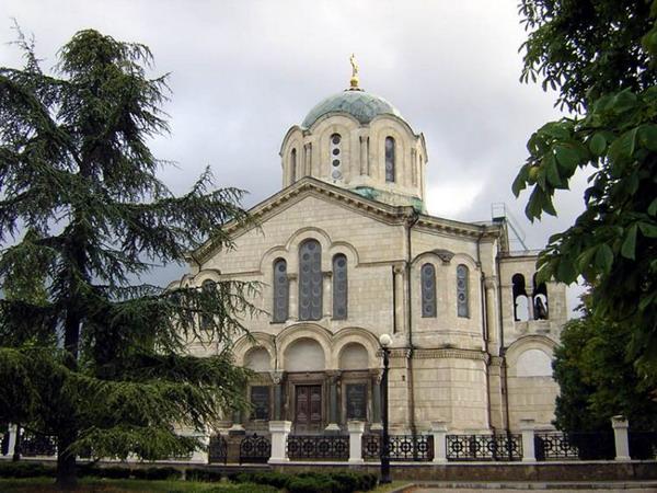 Адмиральский собор святого Владимира. Севастополь.