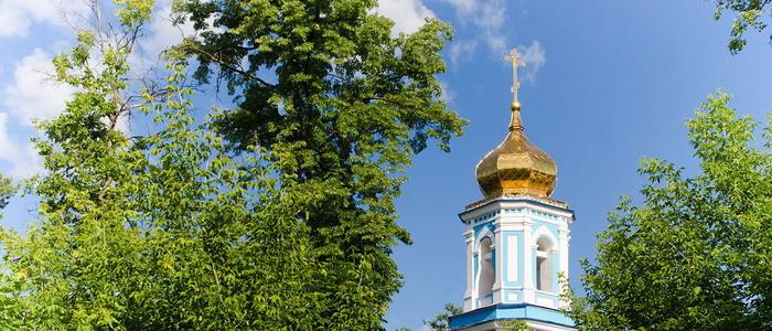 Храм Ярославских чудотворцев на Арском кладбище. Казань