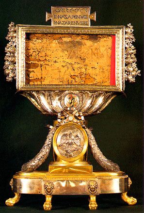 Титло с Животворящего Креста Господня