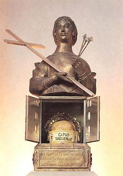Реликварий с мощами святой Елены в Трирском соборе