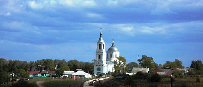Храм Успения Пресвятой Богородицы в с.Суворово (Пузо)