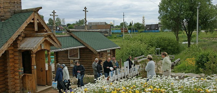 Казанский источник. Дивеево